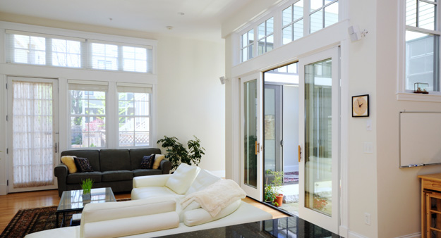 energy efficient windows in a home