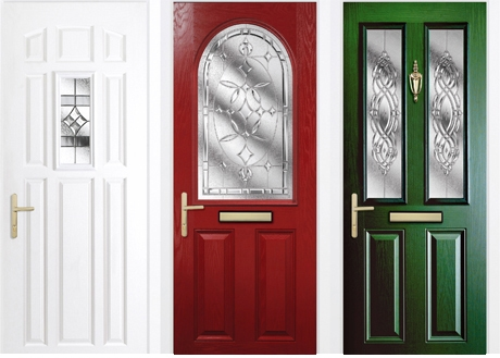 composite doors installed in The Park